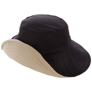 Load image into Gallery viewer, UV Cut Double Side Hat (Black & Beige) 99%隔离紫外线遮阳帽(黑色&浅驼色)