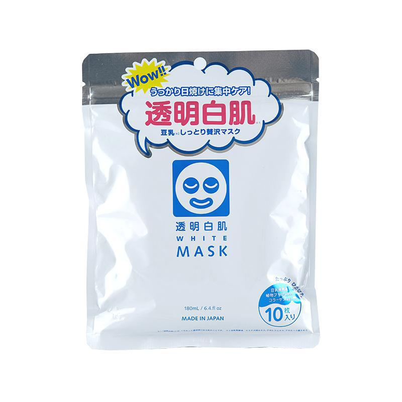Ishizawa-Lab Toumei White Mask 透明白肌药用美白面膜10片