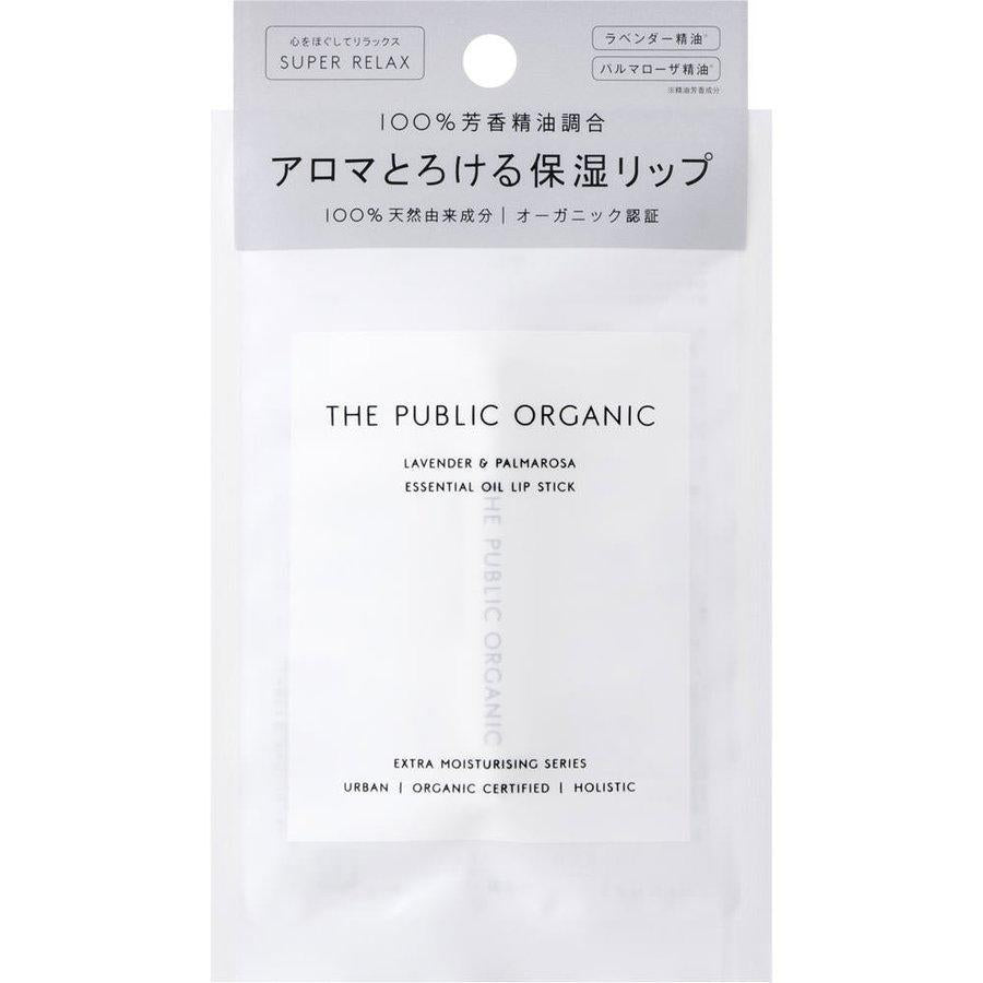 THE PUBLIC ORGANIC Super Positive Lip Stick 有机精油润唇膏