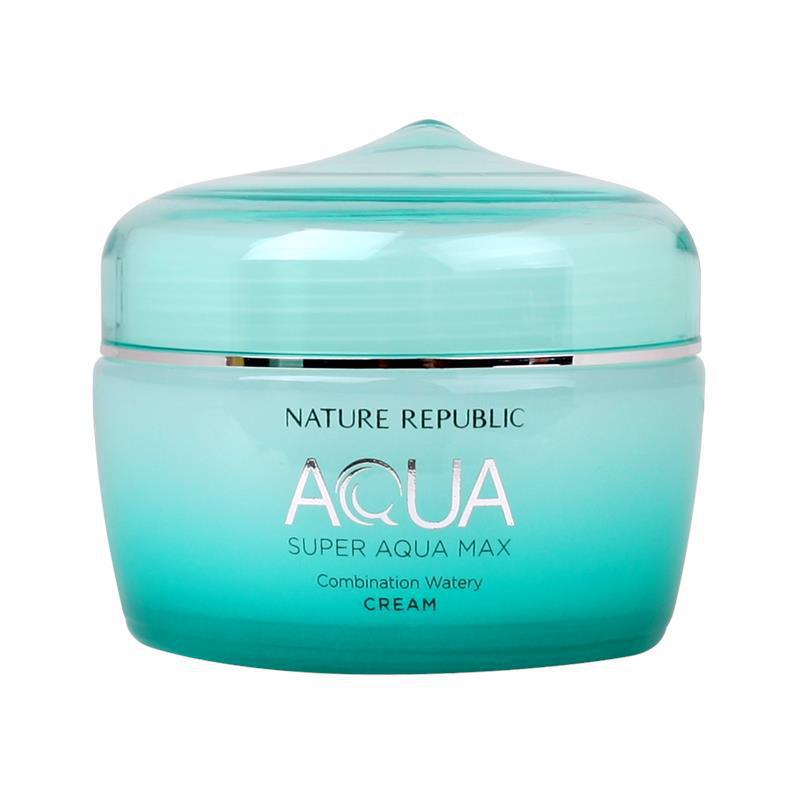 Nature Republic Super Aqua Max Combination Watery Cream (combination skin) 自然乐园超补水水霜