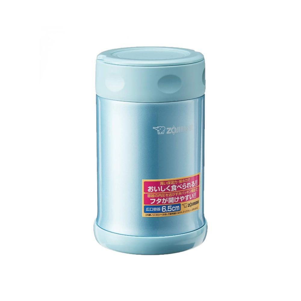 Zojirushi SW-EAE50AB Stainless Steel Food Jar Aqua Blue 0.5L 象印真空焖烧杯 (蓝色)