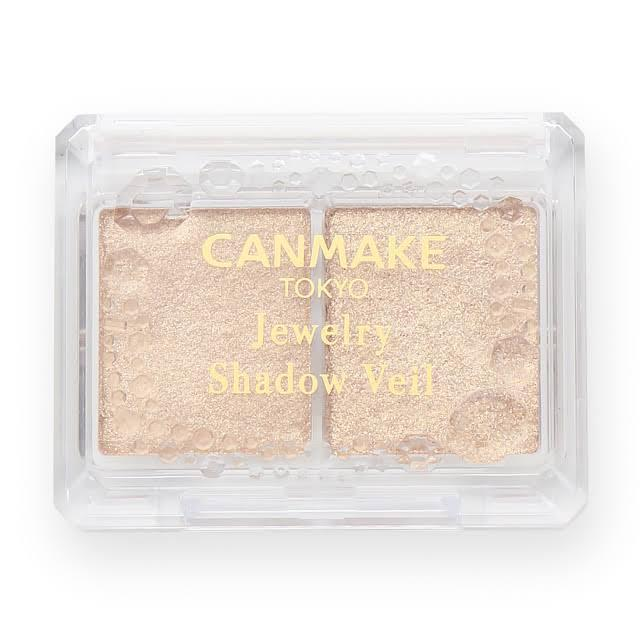 Load image into Gallery viewer, Canmake Jewelry Shadow Veil 02 Romantic Gold 亮片眼影 #02浪漫金色