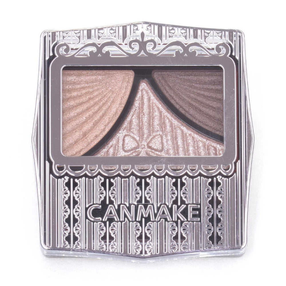 Canmake Juicy Pure Eyes #1 Classic Pink Brown 三色眼影盘 #01经典粉棕
