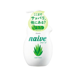 Kracie Naive Body Soap Aloe Pump 芦荟保湿沐浴露