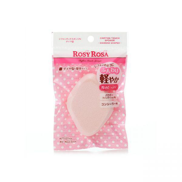 Rosy Rosa Chiffon Touch Sponge N Diamond Shaped 戚风感菱形化妆棉