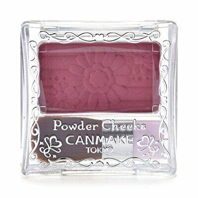 Canmake Powder Cheeks PW38 Plum Pink 单色花瓣腮红 PW38 梅子色