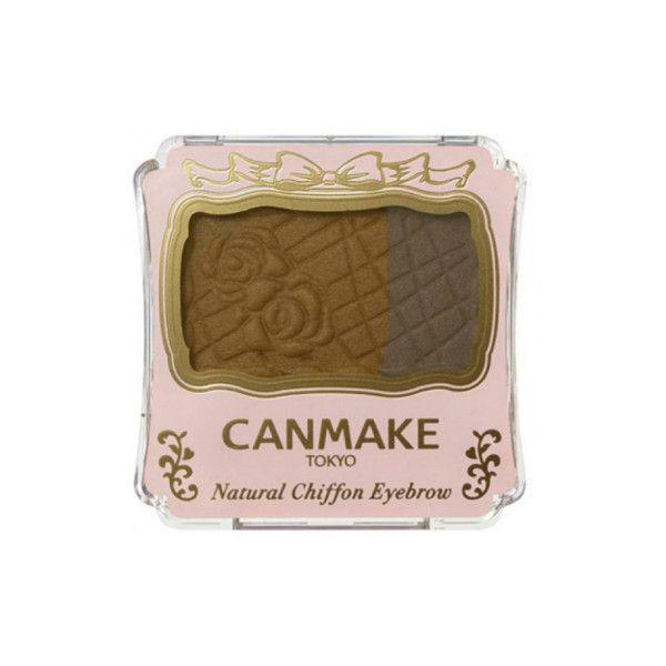 Canmake Natural Chiffon Eyebrow 03 Cinnamon Cookie 双色眉粉 #03肉桂曲奇