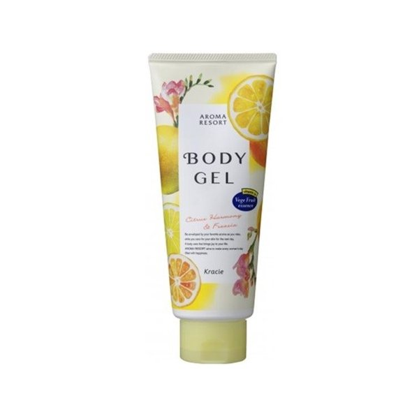Kracie Aroma Resort Body Gel Citrus & Freesia