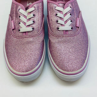 Primary Photo - BRAND: VANS STYLE: SHOES FLATS COLOR: PINK SIZE: 5 SKU: 211-211145-2547