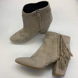 Primary Photo - BRAND: REBECCA MINKOFF STYLE: BOOTS ANKLE COLOR: TAUPE SIZE: 10 SKU: 211-21164-73926
