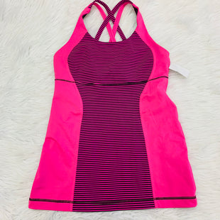 Primary Photo - BRAND: LULULEMON STYLE: ATHLETIC TANK TOP COLOR: PINK SIZE: S SKU: 211-211153-471