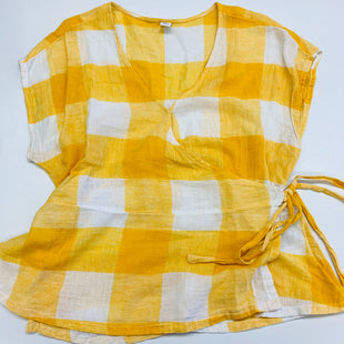 Primary Photo - BRAND: OLD NAVY STYLE: TOP SHORT SLEEVE COLOR: MUSTARD SIZE: L SKU: 211-21164-74289