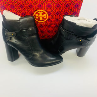 Primary Photo - BRAND: TORY BURCH STYLE: BOOTS ANKLE COLOR: BLACK SIZE: 10 SKU: 211-211146-813