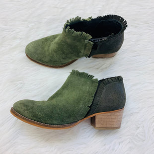 Primary Photo - BRAND:    CLOTHES MENTOR STYLE: BOOTS ANKLE COLOR: GREEN SIZE: 6 OTHER INFO: EXTRAFINE - SKU: 211-211151-1055