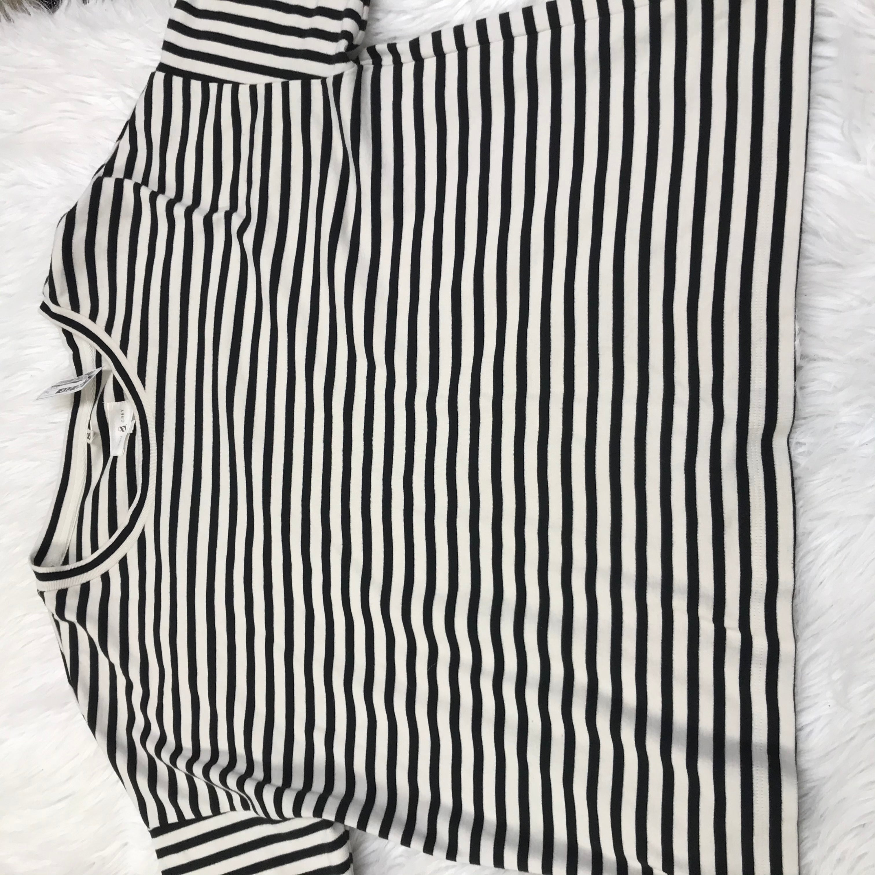 Primary Photo - BRAND: LOU AND GREY <BR>STYLE: TOP SHORT SLEEVE <BR>COLOR: STRIPED <BR>SIZE: L <BR>SKU: 211-211154-2302