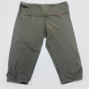 Primary Photo - BRAND: LULULEMON STYLE: ATHLETIC CAPRIS COLOR: GREY SIZE: 8 SKU: 211-211151-703