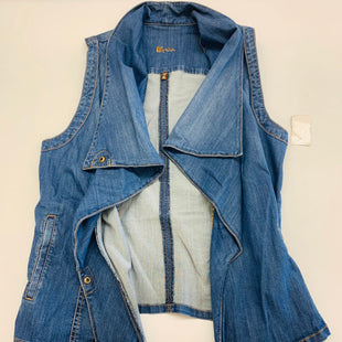 Primary Photo - BRAND: KUT STYLE: VEST COLOR: DENIM SIZE: XL SKU: 211-21164-73923