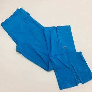 Primary Photo - BRAND: LULULEMON STYLE: ATHLETIC CAPRIS COLOR: BLUE SIZE: 8 SKU: 211-211151-704