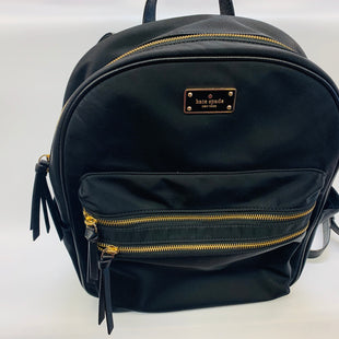 Primary Photo - BRAND: KATE SPADE STYLE: BACKPACK COLOR: BLACK SIZE: MEDIUM SKU: 211-211139-8750
