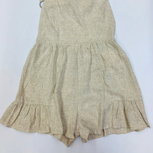 Primary Photo - BRAND:    CLOTHES MENTOR STYLE: DRESS SHORT SLEEVELESS COLOR: BEIGE SIZE: M OTHER INFO: STORIA - SKU: 211-211145-6348