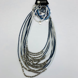 Primary Photo - BRAND: NEW YORK AND CO STYLE: NECKLACE SET COLOR: BLUE WHITE SIZE: 04 PIECE SET SKU: 211-21164-69235