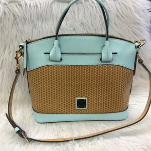 Primary Photo - BRAND: DOONEY AND BOURKE STYLE: HANDBAG DESIGNER COLOR: BABY BLUE SIZE: MEDIUM SKU: 211-211154-2170
