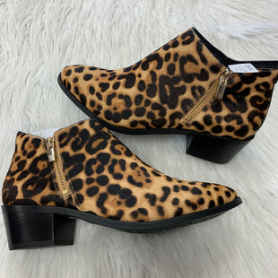 Primary Photo - BRAND: TARYN ROSE STYLE: BOOTS ANKLE COLOR: ANIMAL PRINT SIZE: 9.5 SKU: 211-21164-73599