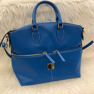 Primary Photo - BRAND: DOONEY AND BOURKE STYLE: HANDBAG DESIGNER COLOR: BLUE SIZE: MEDIUM SKU: 211-211154-2168