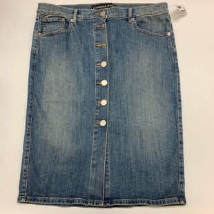 Primary Photo - BRAND: EXPRESS STYLE: SKIRT COLOR: DENIM SIZE: 12 SKU: 211-21164-69408