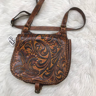 Primary Photo - BRAND: PATRICIA NASH STYLE: HANDBAG DESIGNER COLOR: BROWN SIZE: LARGE SKU: 211-211156-60