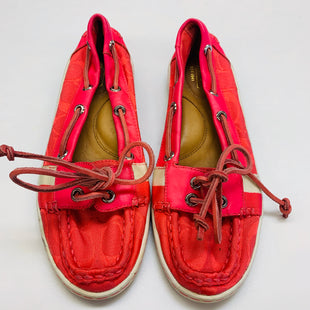 Primary Photo - BRAND: COACH STYLE: SHOES FLATS COLOR: PINK SIZE: 6 SKU: 211-21164-70744
