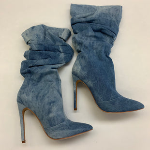 Primary Photo - BRAND: LILIANA STYLE: BOOTS KNEE COLOR: DENIM SIZE: 6 SKU: 211-211145-7808