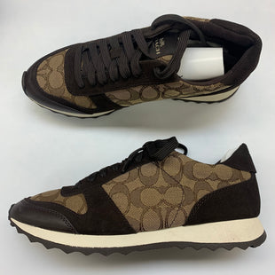 Primary Photo - BRAND: COACH STYLE: SHOES ATHLETIC COLOR: BROWN SIZE: 8 SKU: 211-21164-73658