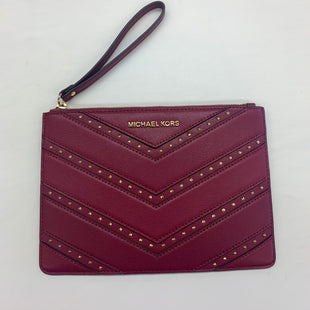 Primary Photo - BRAND: MICHAEL KORS STYLE: WRISTLET COLOR: MAGENTA SKU: 211-21164-71432