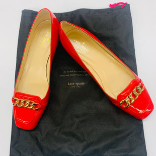 Primary Photo - BRAND: KATE SPADE STYLE: SHOES FLATS COLOR: RED SIZE: 8 SKU: 211-211102-1233