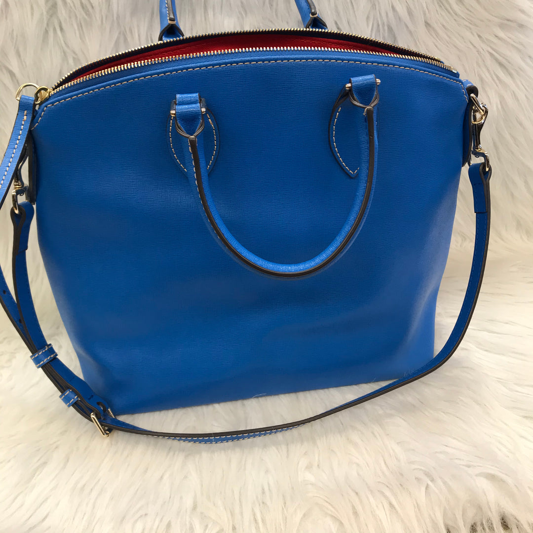 Photo #2 - BRAND: DOONEY AND BOURKE <BR>STYLE: HANDBAG DESIGNER <BR>COLOR: BLUE <BR>SIZE: MEDIUM <BR>SKU: 211-211154-2168