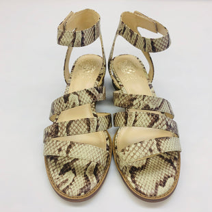 Primary Photo - BRAND: VINCE CAMUTO STYLE: SANDALS LOW COLOR: SNAKESKIN PRINT SIZE: 7 SKU: 211-211148-612