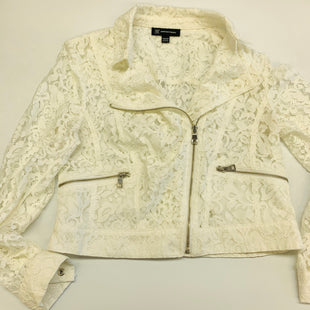 Primary Photo - BRAND: INC STYLE: JACKET OUTDOOR COLOR: OFF WHITE SIZE: M SKU: 211-21164-70853
