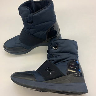 Primary Photo - BRAND: MICHAEL BY MICHAEL KORS STYLE: BOOTS ANKLE COLOR: NAVY SIZE: 7.5 SKU: 211-211145-7304