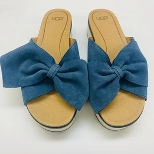 Primary Photo - BRAND: UGG STYLE: SANDALS FLAT COLOR: SLATE BLUE SIZE: 10 SKU: 211-21164-67335