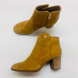 Primary Photo - BRAND: TORY BURCH STYLE: BOOTS ANKLE COLOR: YELLOW SIZE: 7.5 SKU: 211-211145-6749