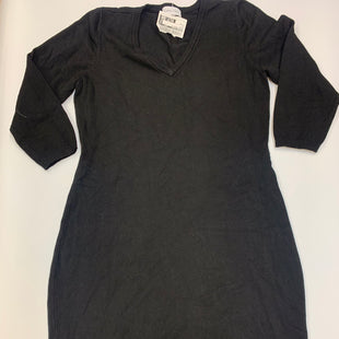 Primary Photo - BRAND: CALVIN KLEIN STYLE: DRESS SHORT LONG SLEEVE COLOR: BLACK SIZE: M SKU: 211-21164-72056