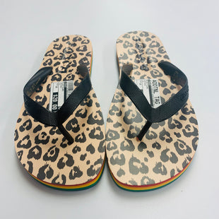 Primary Photo - BRAND: COACH STYLE: FLIP FLOPS COLOR: RAINBOW SIZE: 10 SKU: 211-211139-8809