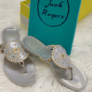 Primary Photo - BRAND: JACK ROGERS STYLE: SANDALS FLAT COLOR: GREY SIZE: 6 SKU: 211-21164-64479