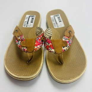 Primary Photo - BRAND: SPERRY STYLE: FLIP FLOPS COLOR: FLORAL SIZE: 6.5 SKU: 211-211139-8908
