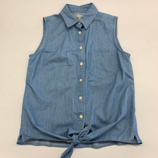 Primary Photo - BRAND: J CREW STYLE: TOP SLEEVELESS COLOR: DENIM SIZE: 0 SKU: 211-21164-74275