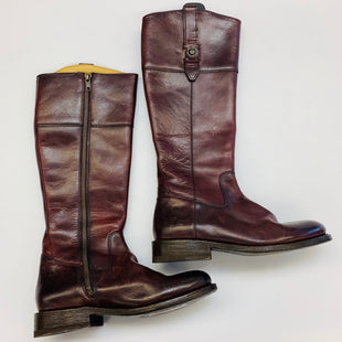 Primary Photo - BRAND: FRYE STYLE: BOOTS KNEE COLOR: MAROON SIZE: 6 SKU: 211-211151-1015