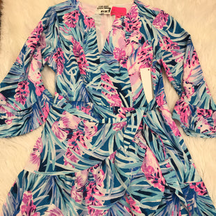 Primary Photo - BRAND: LILLY PULITZER STYLE: DRESS SHORT LONG SLEEVE COLOR: PURPLE SIZE: M SKU: 211-211156-57