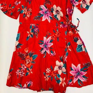 Primary Photo - BRAND: OLD NAVY STYLE: DRESS SHORT SHORT SLEEVE COLOR: FLORAL SIZE: XL SKU: 211-211139-8998