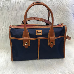 Primary Photo - BRAND: DOONEY AND BOURKE STYLE: HANDBAG DESIGNER COLOR: NAVY SIZE: LARGE SKU: 211-211102-2415